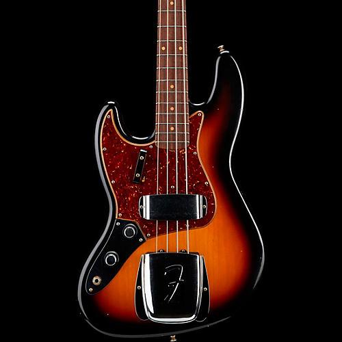 Fender Custom Shop 1960 Jazz Bass Journeyman Rosewood Fingerboard Left Handed