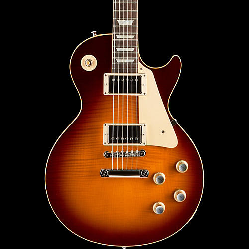Gibson Custom 1960 Les Paul Figured Top Reissue Electric Guitar PG 129