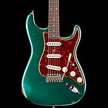1960 Roasted Relic Stratocaster Electric Guitar Aged Sherwood Green Metallic