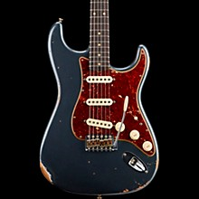 1960 Roasted Relic Stratocaster Electric Guitar Charcoal Frost Metallic
