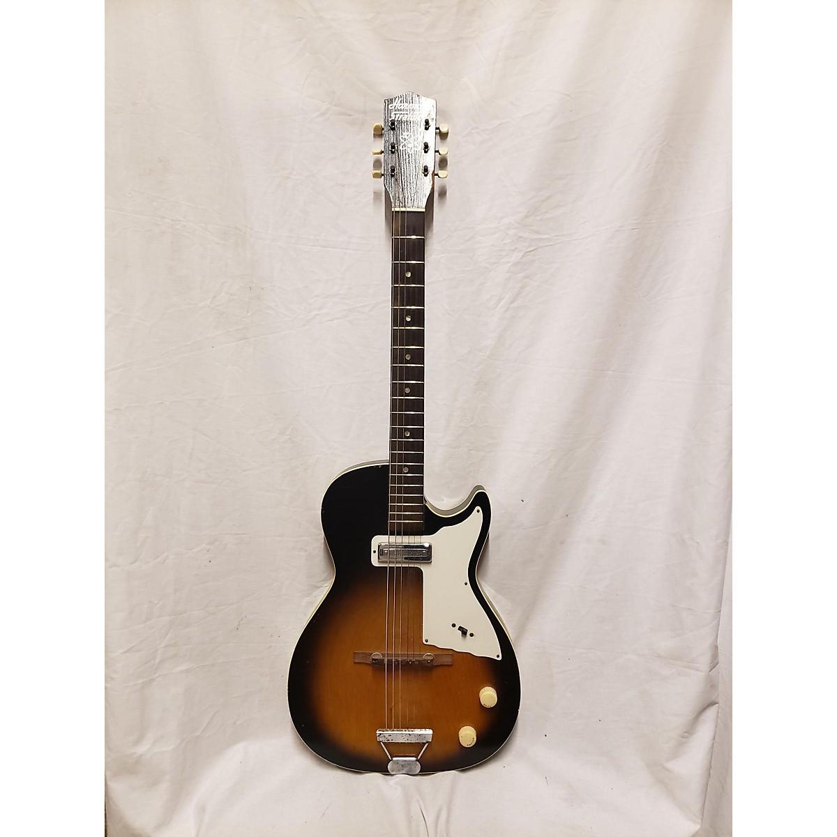 Harmony 1960 Stratotone Mercury H-47 SB Solid Body Electric Guitar