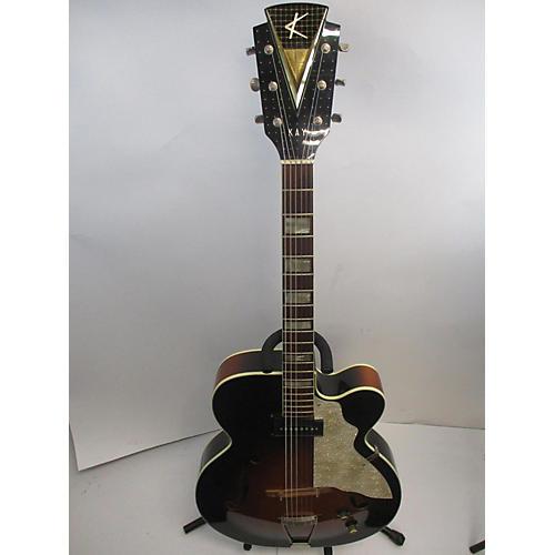 Kay 1960 Upbeat Hollow Body Electric Guitar
