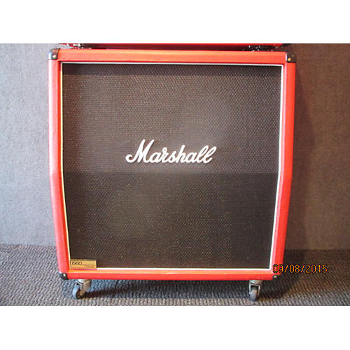 Marshall 1960A 300W 4X12 Stereo Slant Fiesta Red Guitar Cabinet