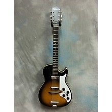 Silvertone 1960s 1420 Solid Body Electric Guitar
