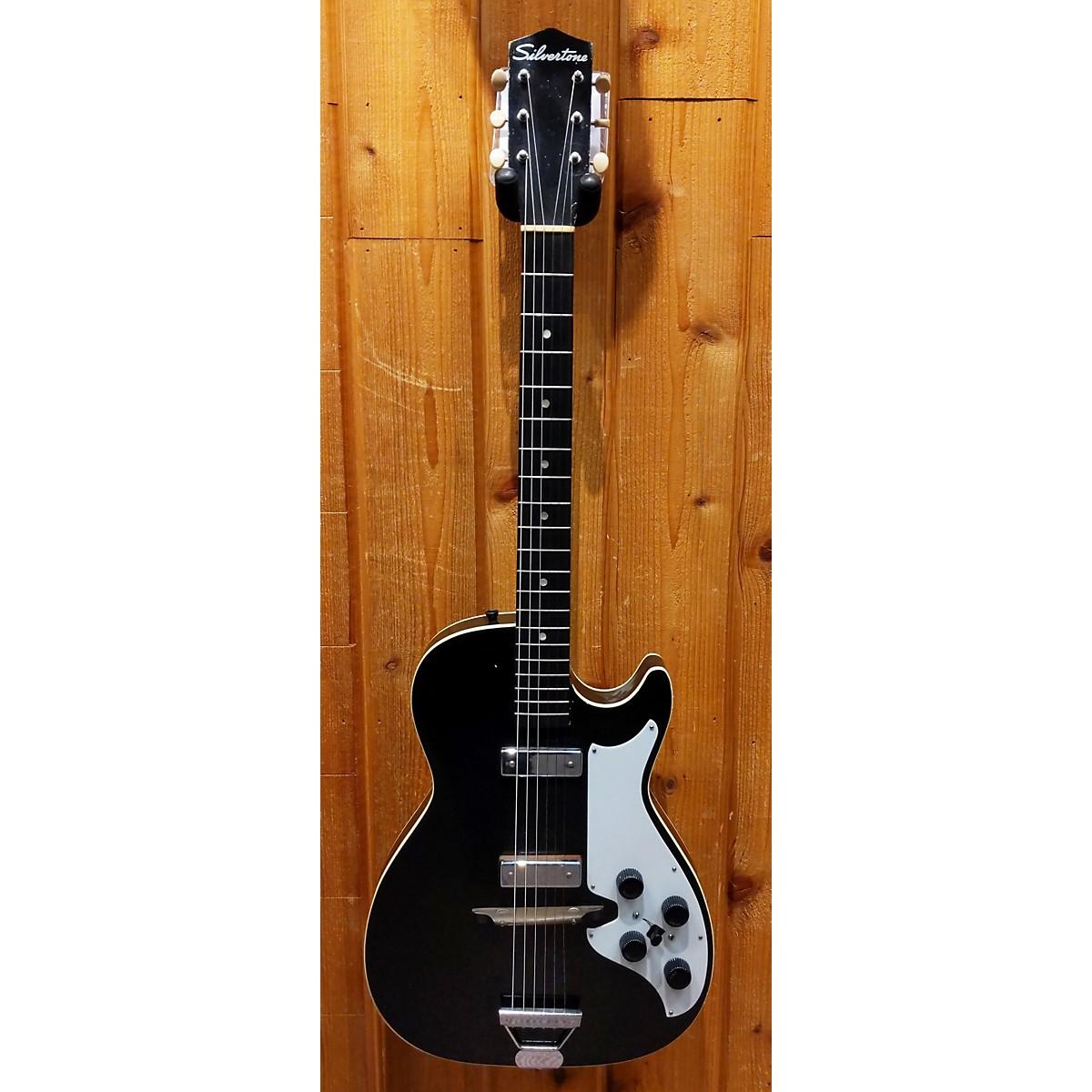 Silvertone 1960s 1420 Stratotone Solid Body Electric Guitar
