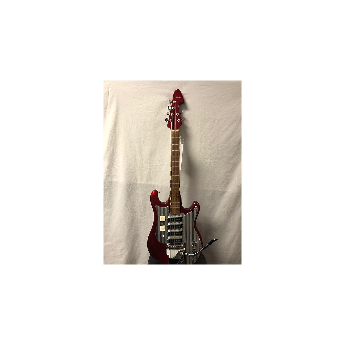 Teisco 1960s 1437 Red Solid Body Electric Guitar