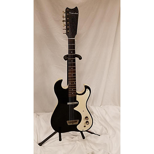 Silvertone 1960s 1448 Solid Body Electric Guitar