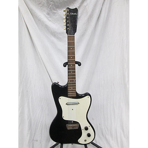 Silvertone 1960s 1451 Solid Body Electric Guitar