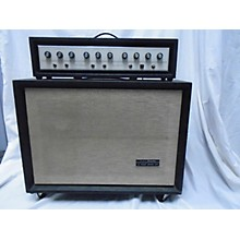 Silvertone 1960s 1464 Solid State 100 Guitar Amp Head And Guitar Cabinet