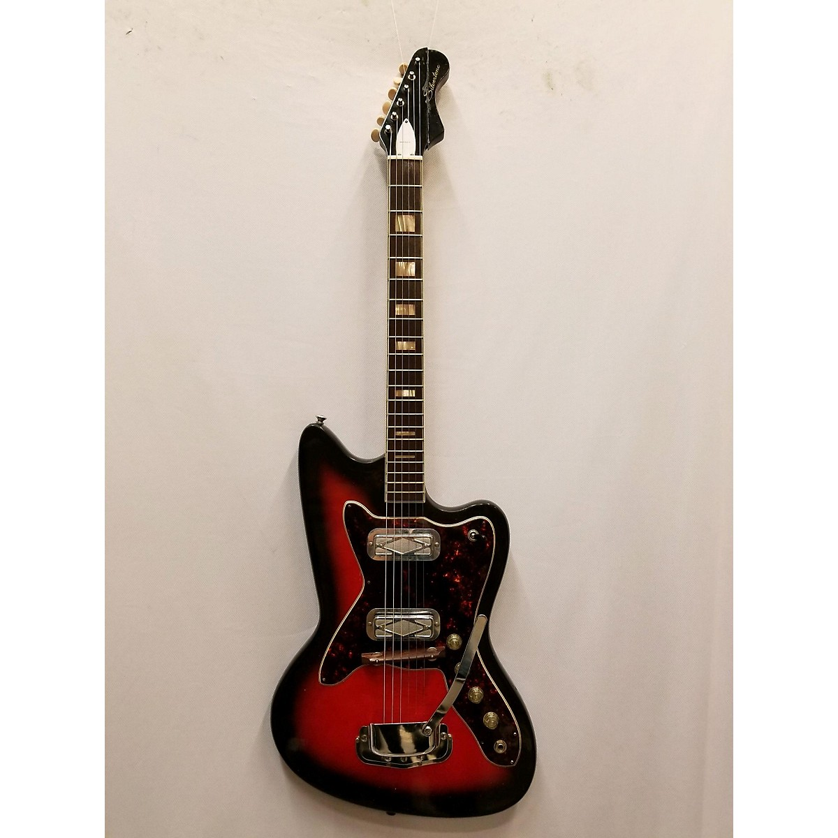 Silvertone 1960s 1478 Solid Body Electric Guitar