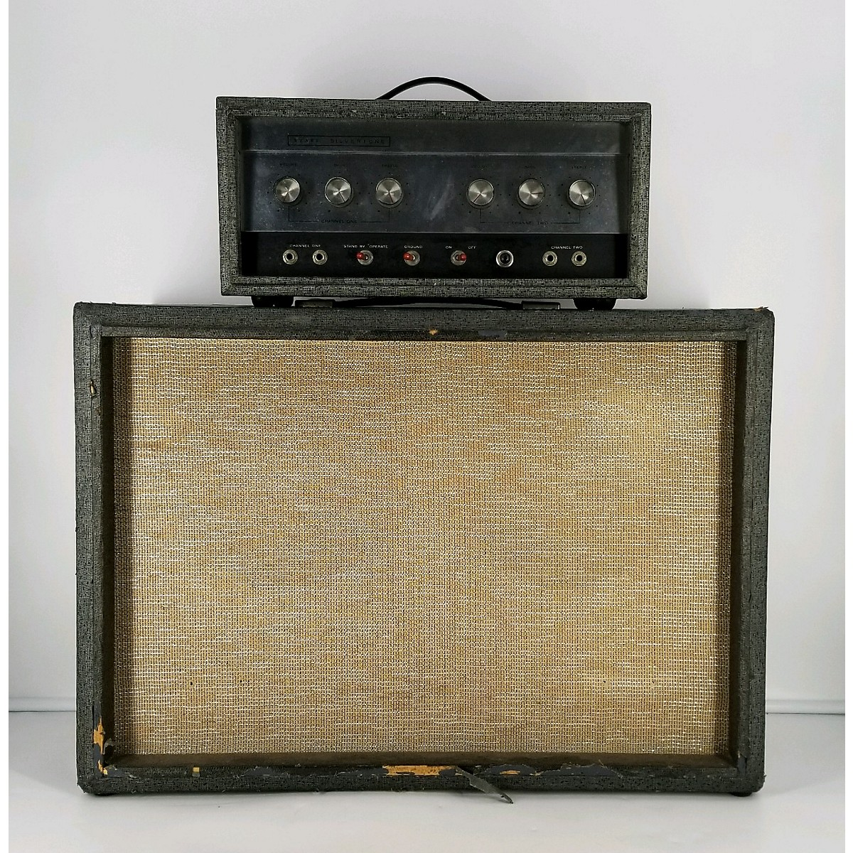 Silvertone 1960s 1483 Set Tube Guitar Amp Head