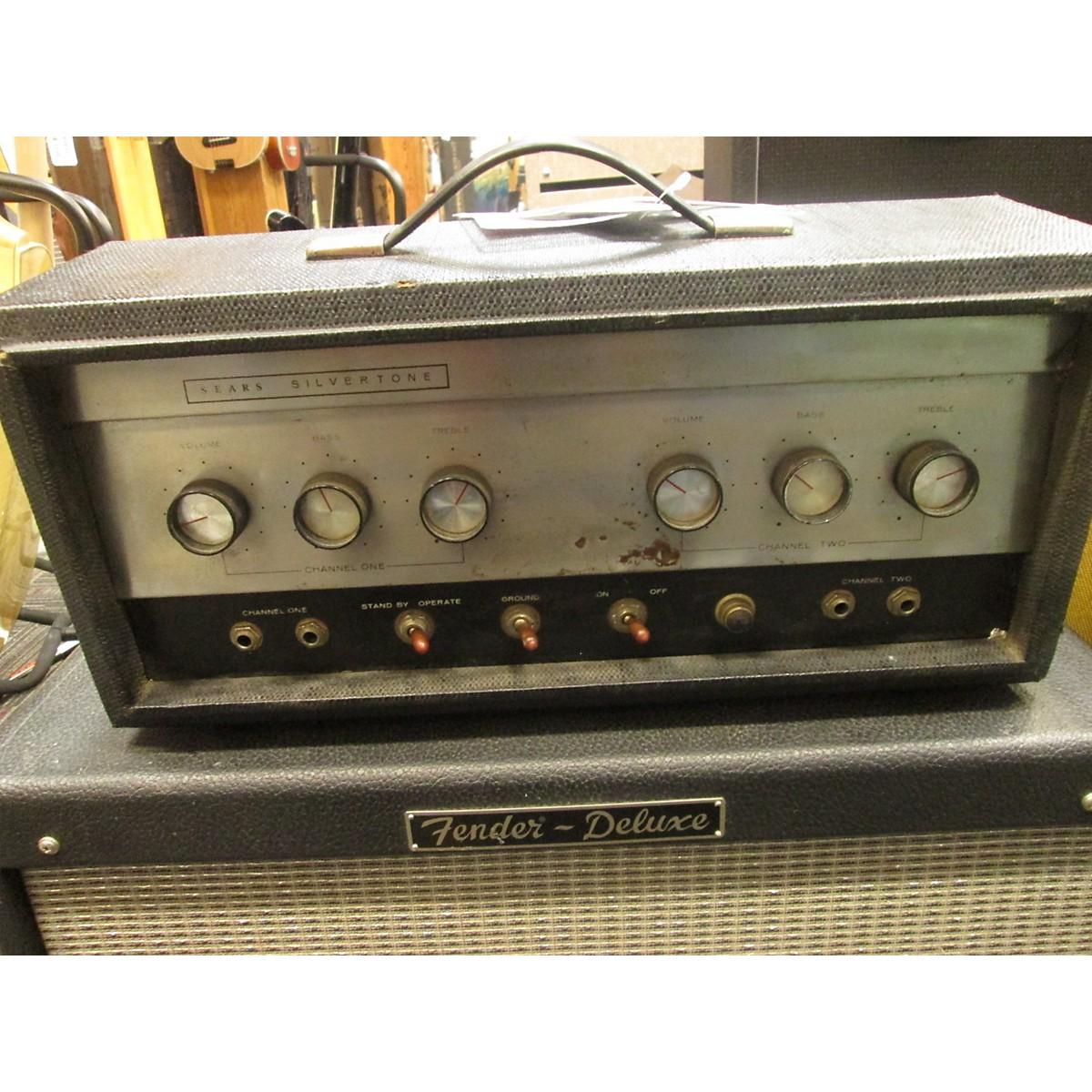 Silvertone 1960s 1483 Tube Guitar Amp Head