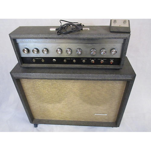 Silvertone 1960s 1484 Head And Cab Tube Guitar Combo Amp