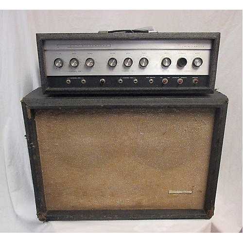 Silvertone 1960s 1960's 1484 Head And Cab Guitar Cabinet