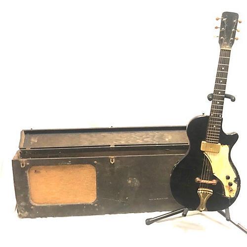 vintage airline 1960s 1960 39 s airline amp in case solid body electric guitar black guitar center. Black Bedroom Furniture Sets. Home Design Ideas