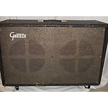 Gretsch Guitars 1960s 1960's Gretsch 2x12 Cab Grey Guitar Cabinet
