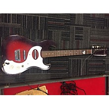 Silvertone 1960s 1960's Silvertone Amp In Case Model 1457 Solid Body Electric Guitar