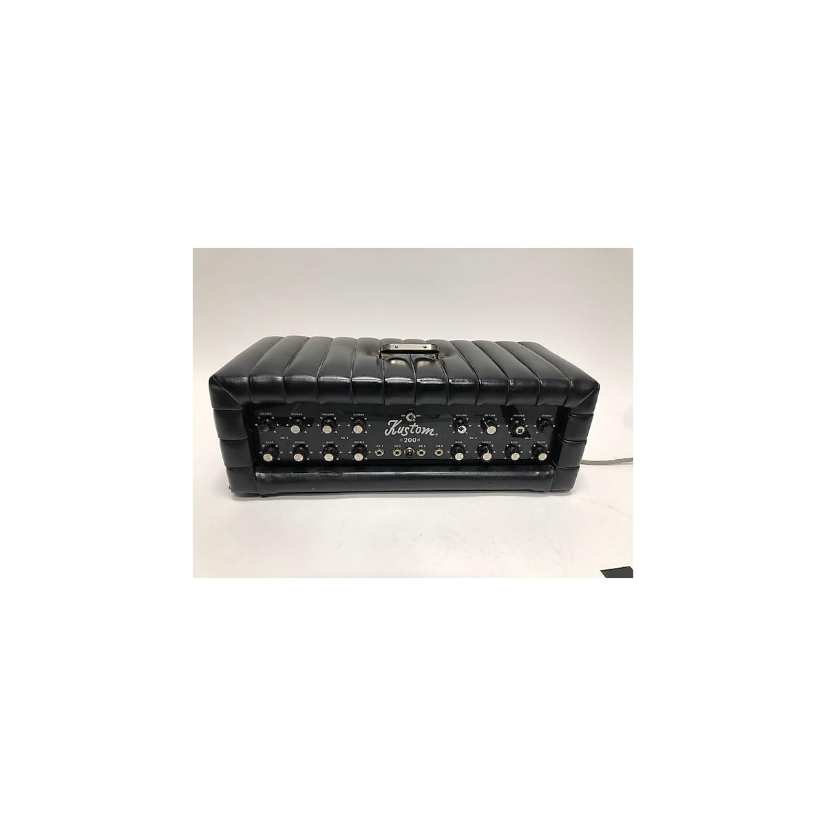 Kustom 1960s 200 PA Black Solid State Guitar Amp Head