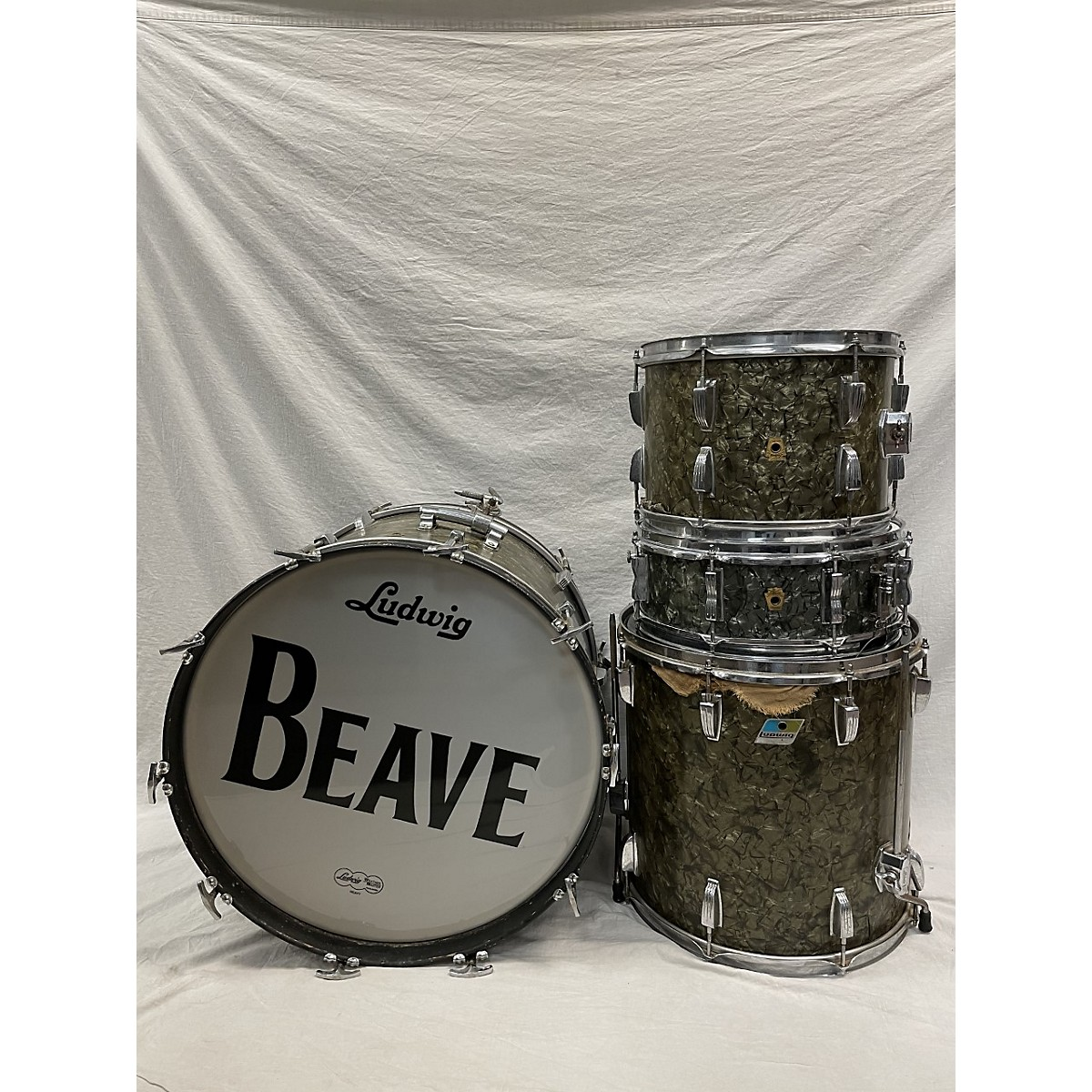 Ludwig 1960s 4 Piece Kit With Snare Drum Kit