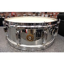 Gretsch Drums 1960s 5.5X14 Round Badge Steel Snare Drum
