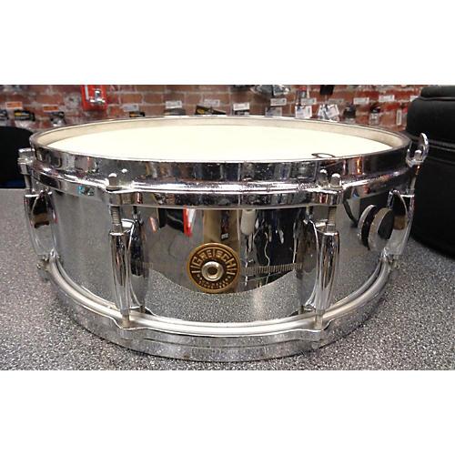 Gretsch Drums 1960s 5.5X14 Round Badge Steel Snare Drum