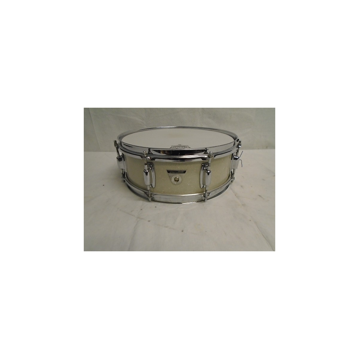 Ludwig 1960s 5X14 1960s Silver Sparkle Snare Drum