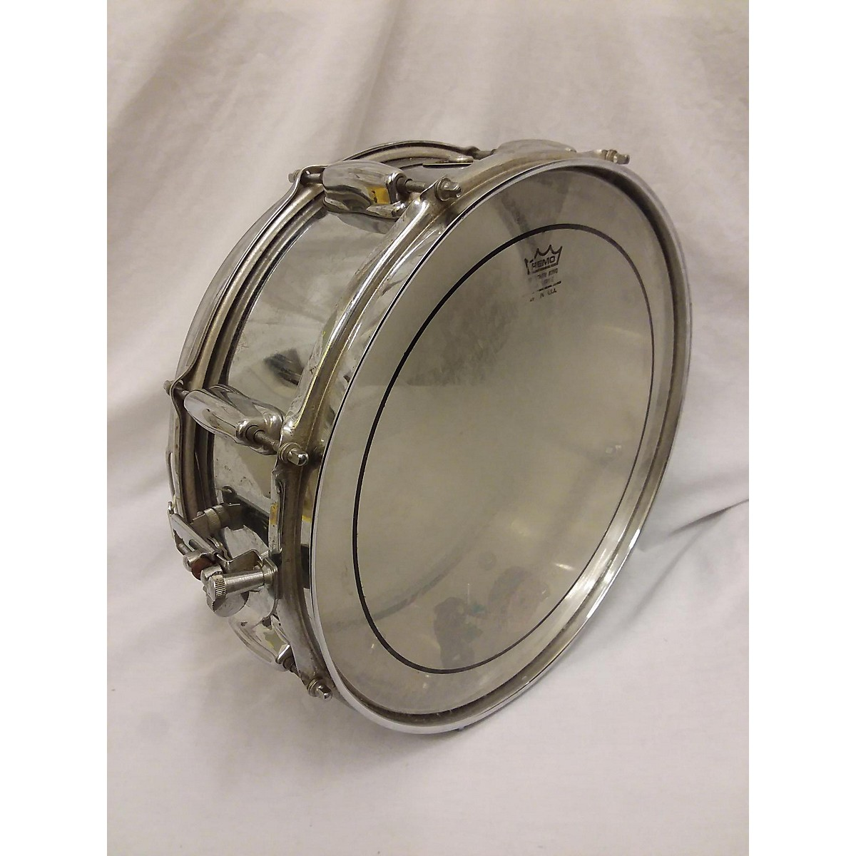 Slingerland 1960s 5X14 Chrome Over Brass Snare Drum