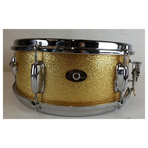 Slingerland 1960s 5X14 Gold Snare Drum