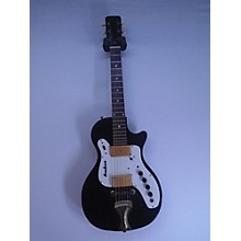 Airline 1960s 7214 Guitar Black W/amp In Case Solid Body Electric Guitar