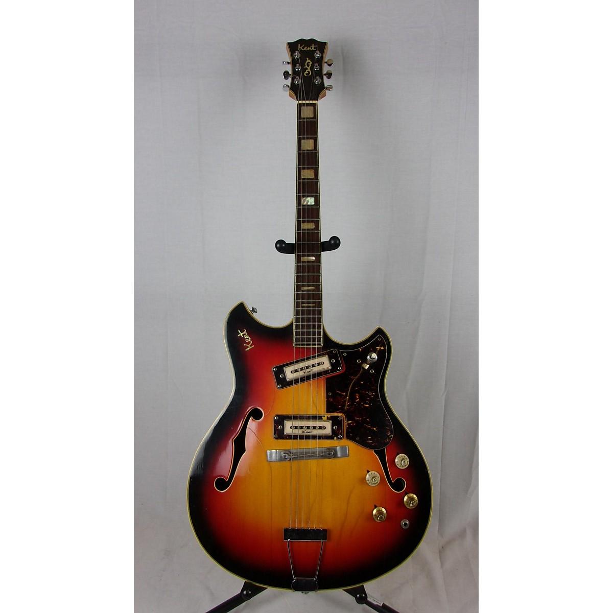 Kent 1960s 740 Hollow Body Electric Guitar