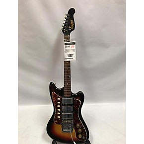vintage supro 1960s arlington solid body electric guitar sunburst guitar center. Black Bedroom Furniture Sets. Home Design Ideas