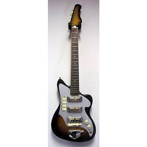 Teisco 1960s AUDITION 3PU Solid Body Electric Guitar