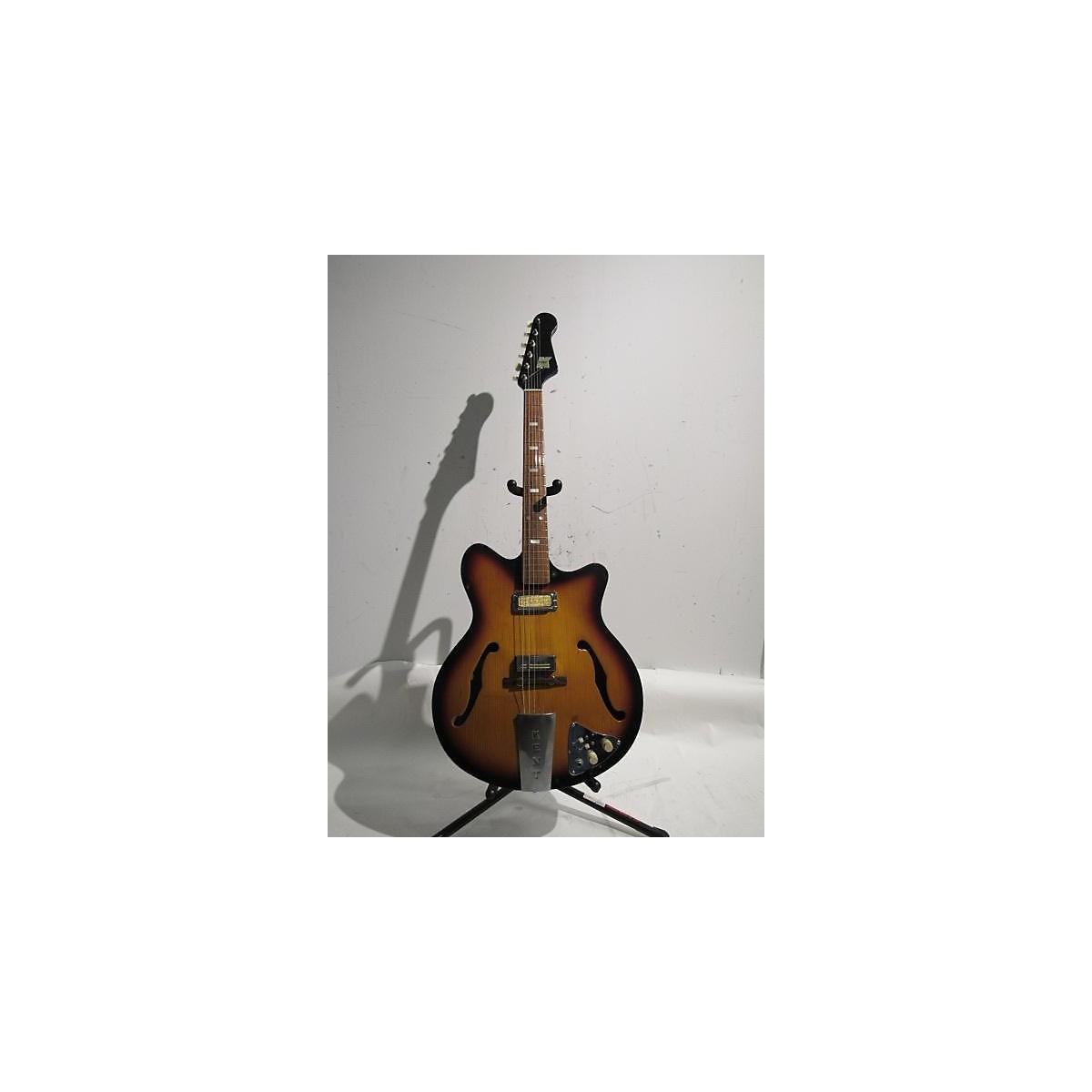 Kent 1960s Americana 2 Pick Up Hollow Body Electric Guitar