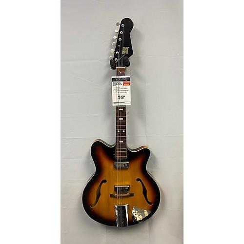 Kent 1960s Americana Hollow Body Electric Guitar