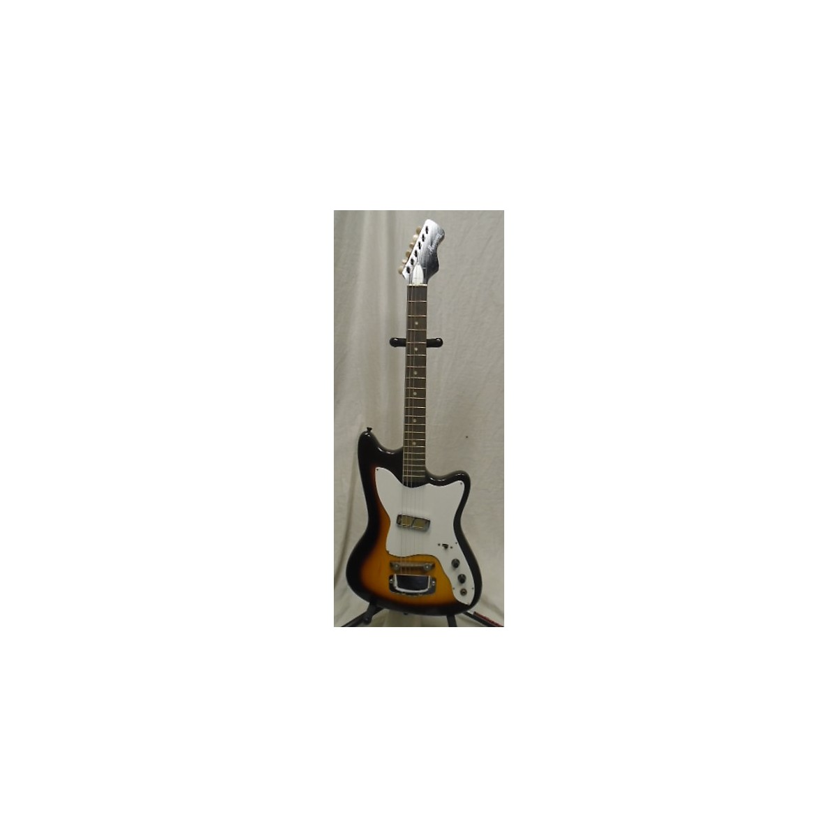 Harmony 1960s Bobcat 1 Pickup Solid Body Electric Guitar