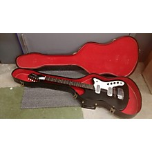 Silvertone 1960s Bobcat Solid Body Electric Guitar