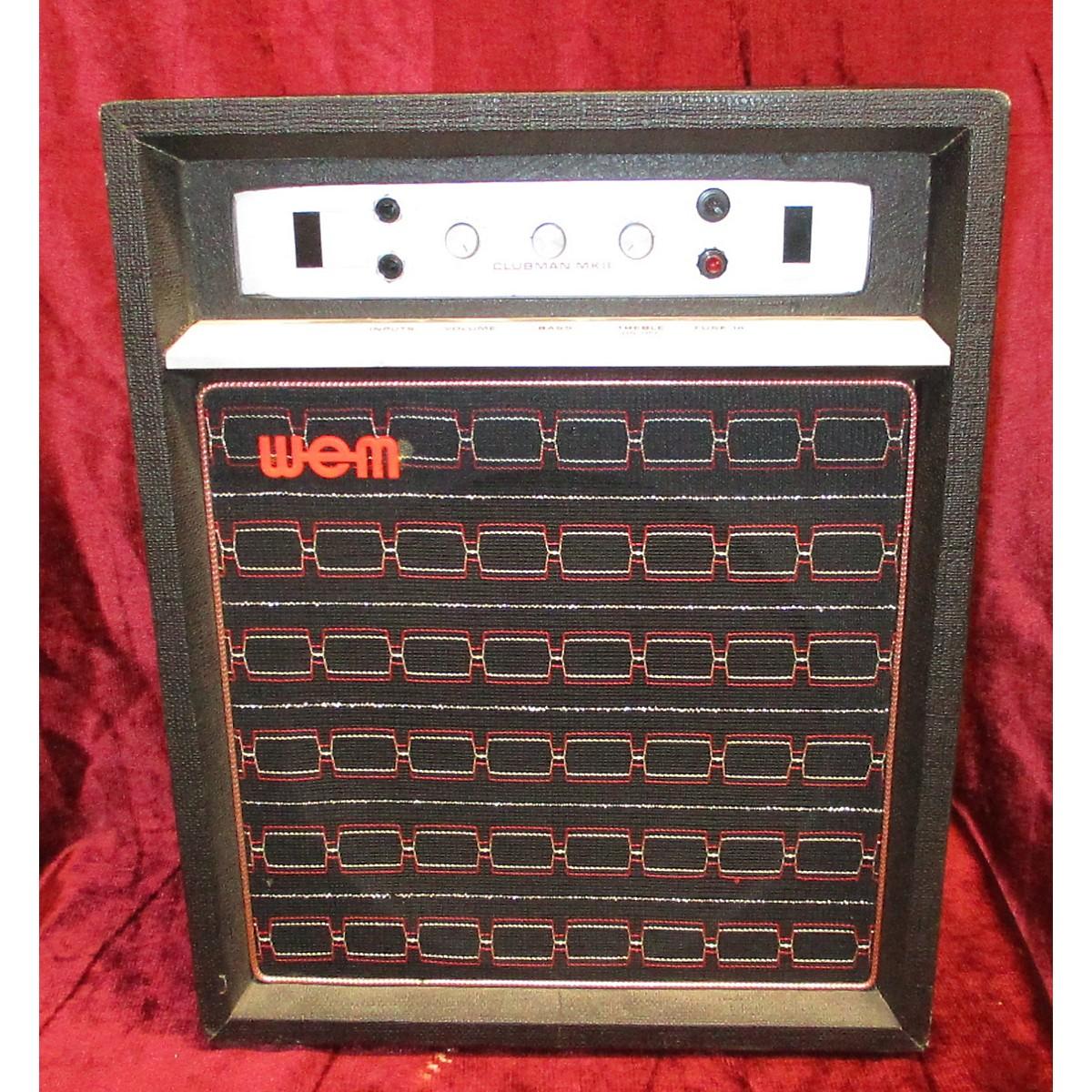 Wem 1960s Clubman MK8 Tube Guitar Combo Amp