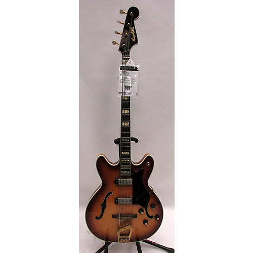 vintage hagstrom 1960s concorde deluxe electric bass guitar honey burst guitar center. Black Bedroom Furniture Sets. Home Design Ideas
