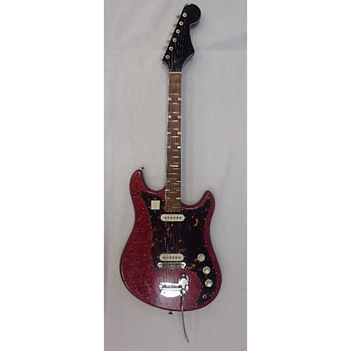 Norma 1960s Double Cutaway Solid Body Electric Guitar