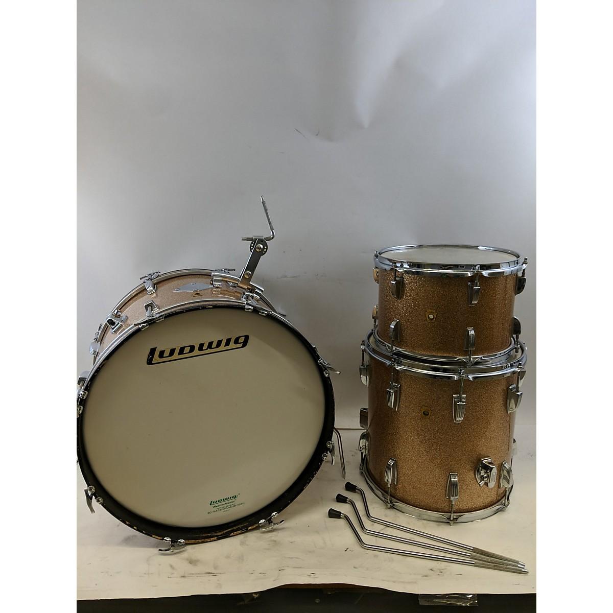 Ludwig 1960s Downbeat Drum Kit