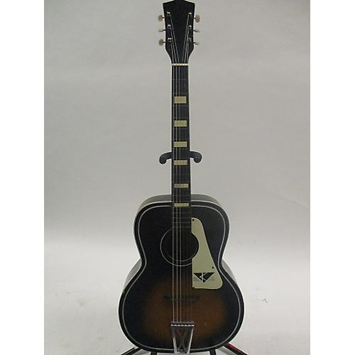 Kay 1960s Flattop Acoustic Guitar