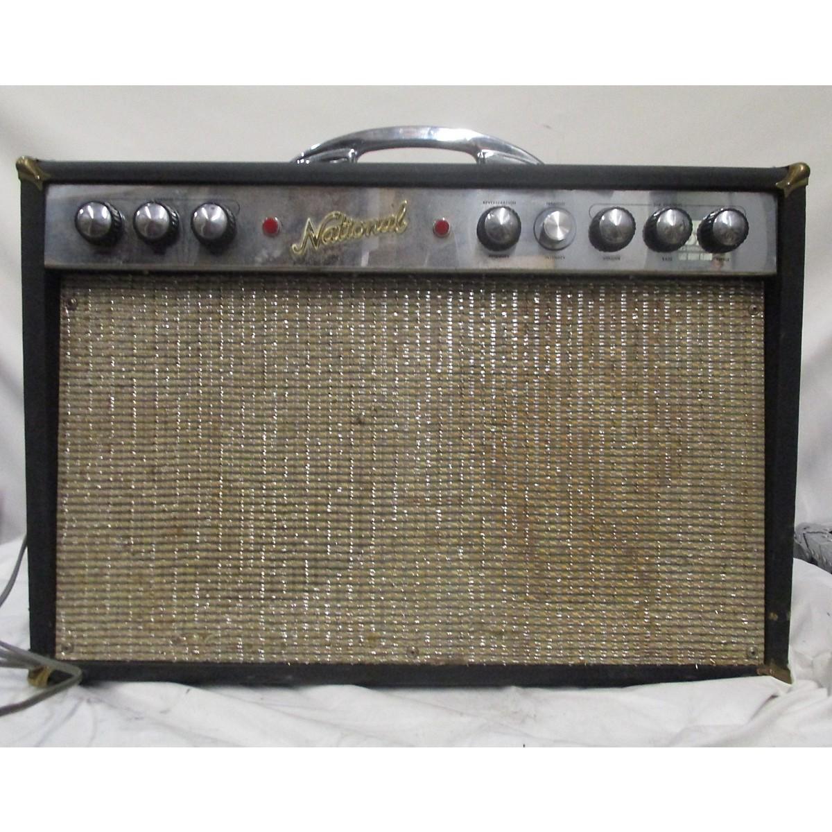 National 1960s Glenwood Tube Guitar Combo Amp