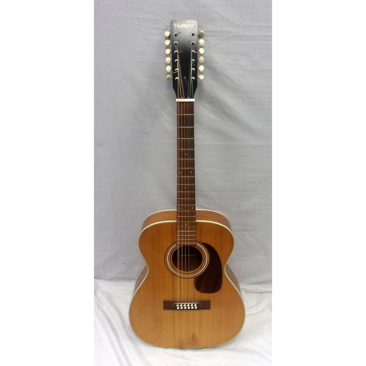 Harmony 1960s H1233 12 String Acoustic Guitar