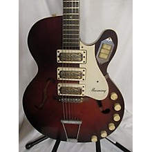 HARMONY 1960s H59 ROCKET Hollow Body Electric Guitar