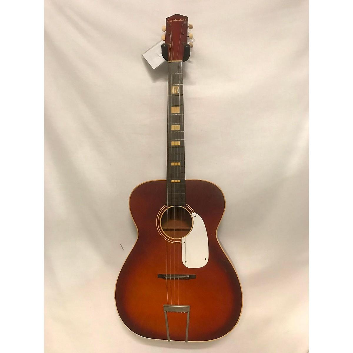 Silvertone 1960s H615 Acoustic Guitar