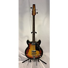 Baldwin 1960s Hollowbody Electric Bass Guitar