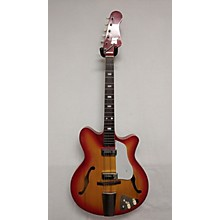 Kent 1960s Hollowbody Electric Hollow Body Electric Guitar