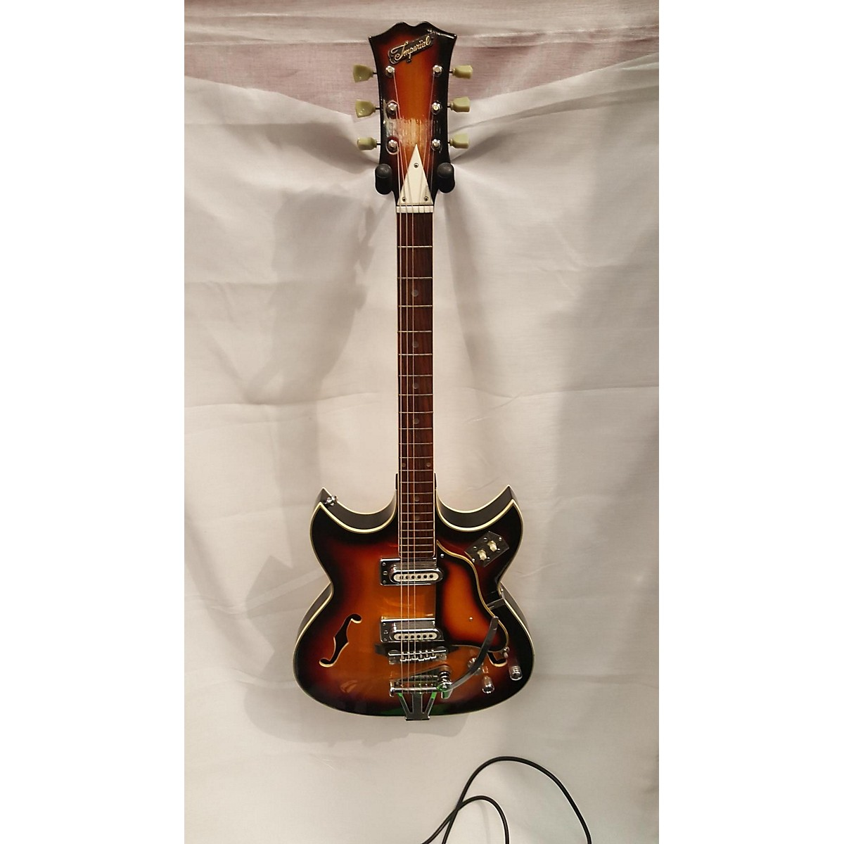 Teisco 1960s Imperial Hollow Body Electric Guitar