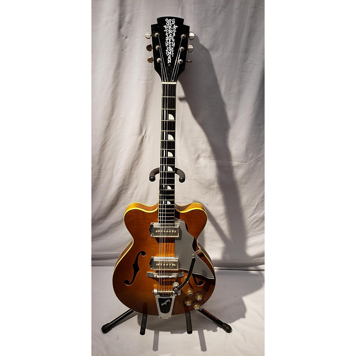 Old Kraftsman 1960s Jazz III Hollow Body Electric Guitar