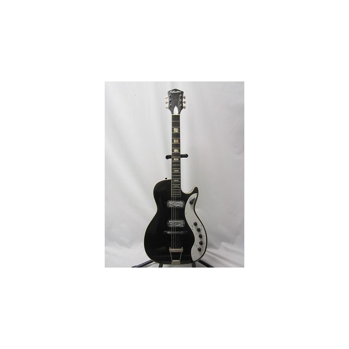 Silvertone 1960s Jupiter Solid Body Electric Guitar